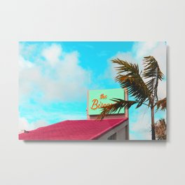 Historically Futuristic Metal Print
