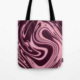 Liquid Pink Tote Bag