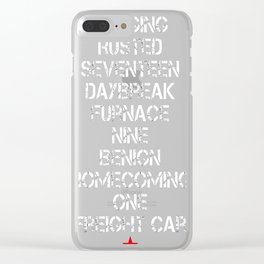 Activated Clear iPhone Case