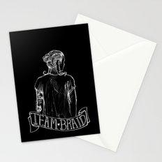 Inverted Team Braid Stationery Cards