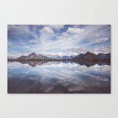 Mountain Lake Reflection Canvas Print
