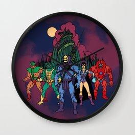 Team Snake Mountain Wall Clock