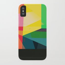 Colors with Black iPhone Case