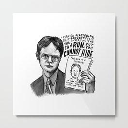 Dwight | Office Metal Print