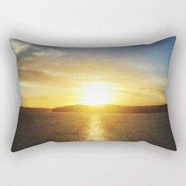 Sunset Auckland Rectangular Pillow