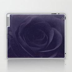 Aubergine -- Tone on Tone Purples -- Floral Rose Laptop & iPad Skin