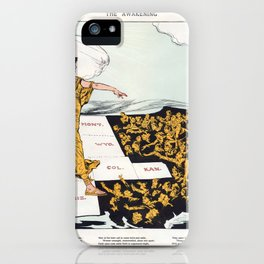 The Awakening By Hy Mayer 1915 Women's Suffrage iPhone Case