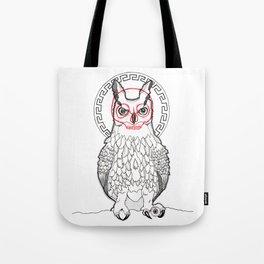 Grumpy Owl Tote Bag