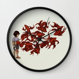 Redfish Wall Clock