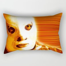 La Lucha - Orange Edition Rectangular Pillow