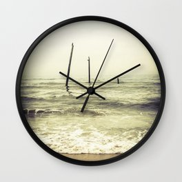 Birds on the Water Wall Clock