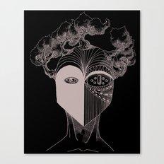 Masque de la Terre (Earth Mask) Canvas Print