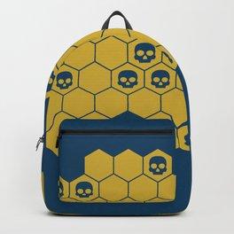 Honey Skulls - Blue Backpack