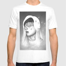 anthem for a seventeen year old series n6 MEDIUM White Mens Fitted Tee