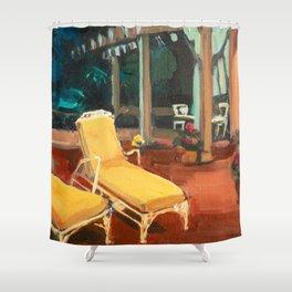 Golden Girls Lannai Shower Curtain