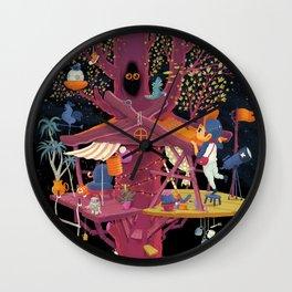 Tree House Wall Clock