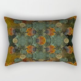 """Glass candy Mosaic (caramel pattern)"" Rectangular Pillow"