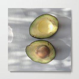 Healthy Fats | Avocado  Metal Print