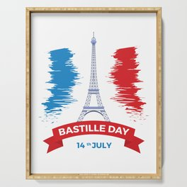 Bastille Day 14 July Serving Tray