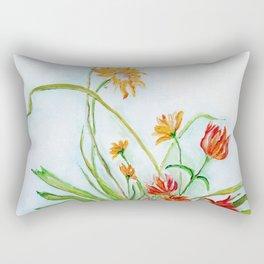 Ikebana II Rectangular Pillow