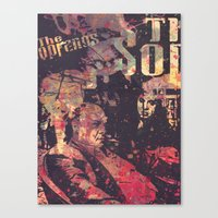 sopranos Canvas Prints featuring The Sopranos (in memory of James Gandolfini)1 by Nechifor Ionut