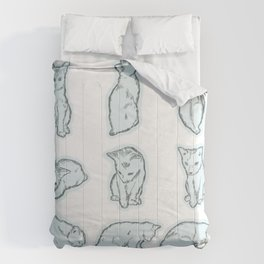 Cat's daily life 2 Comforters