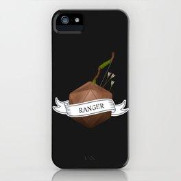 D20 Ranger Class iPhone Case
