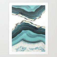 Sea Agate Art Print