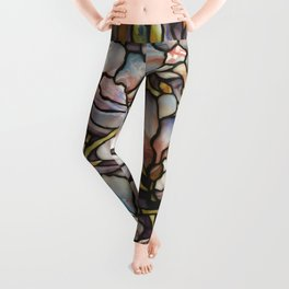 Louis Comfort Tiffany - Decorative stained glass 10. Leggings