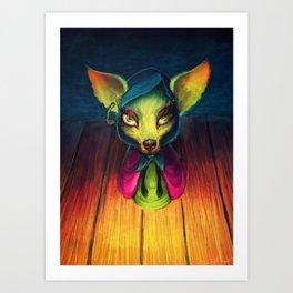 Shirley the Medium Art Print