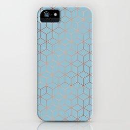 Gold Cubes 8 iPhone Case