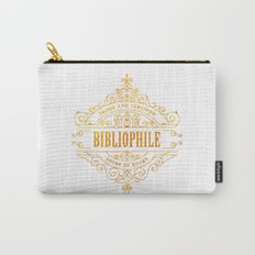 Gold Bibliophile Carry-All Pouch