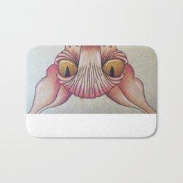 Upside-Down Sphynx Bath Mat