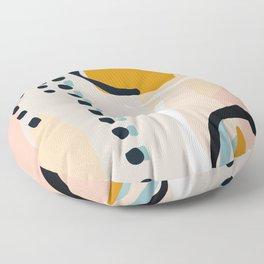 modern abstract Floor Pillow