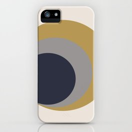 Nested Circles iPhone Case