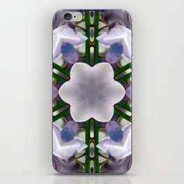 Wisteria Kaleidoscope iPhone Skin