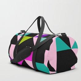 flat pink spike Duffle Bag