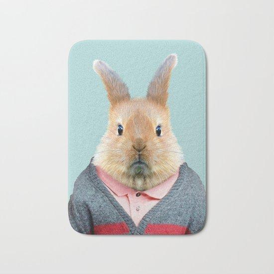 Rabbit Bath Mat