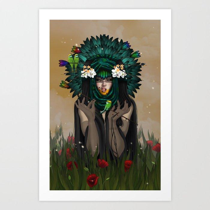 VACUITY Art Print