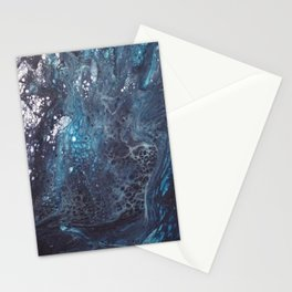 Icy crust Stationery Cards