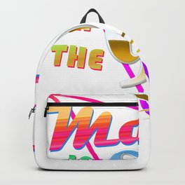 """Made in the 90s"" Vaporwave design. Retro 90's Birthday Gift design Backpack"