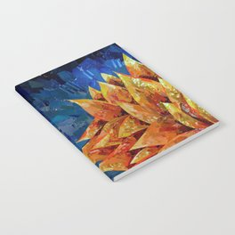 Star Bloom Collage Notebook
