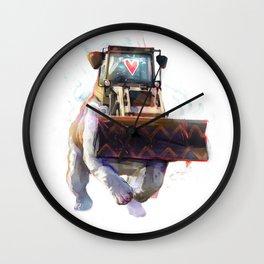 Dozer Bulldozer Wall Clock