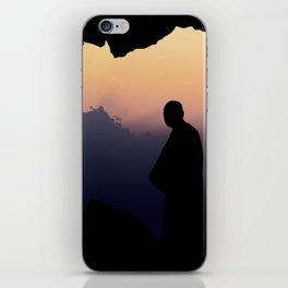 Contemplation - Spiritual jorney of a Monk T-Shirt iPhone Skin