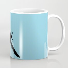 Crop Duster Silhouette Coffee Mug