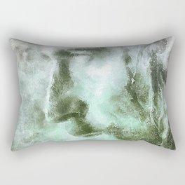 Jesús con la corona de espinas Rectangular Pillow