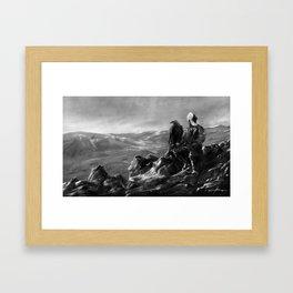 Eagle of Mongolia Framed Art Print