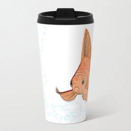 Poisson rouge - illustration Travel Mug