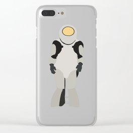 Emojibot Clear iPhone Case
