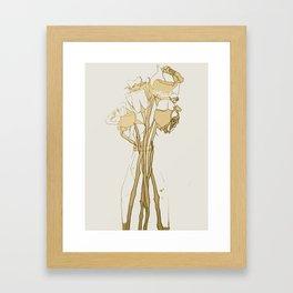 Rose III Framed Art Print